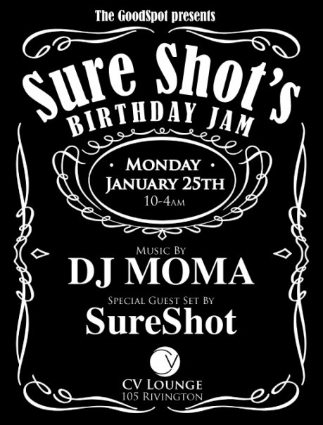 Sure Shot birthday party