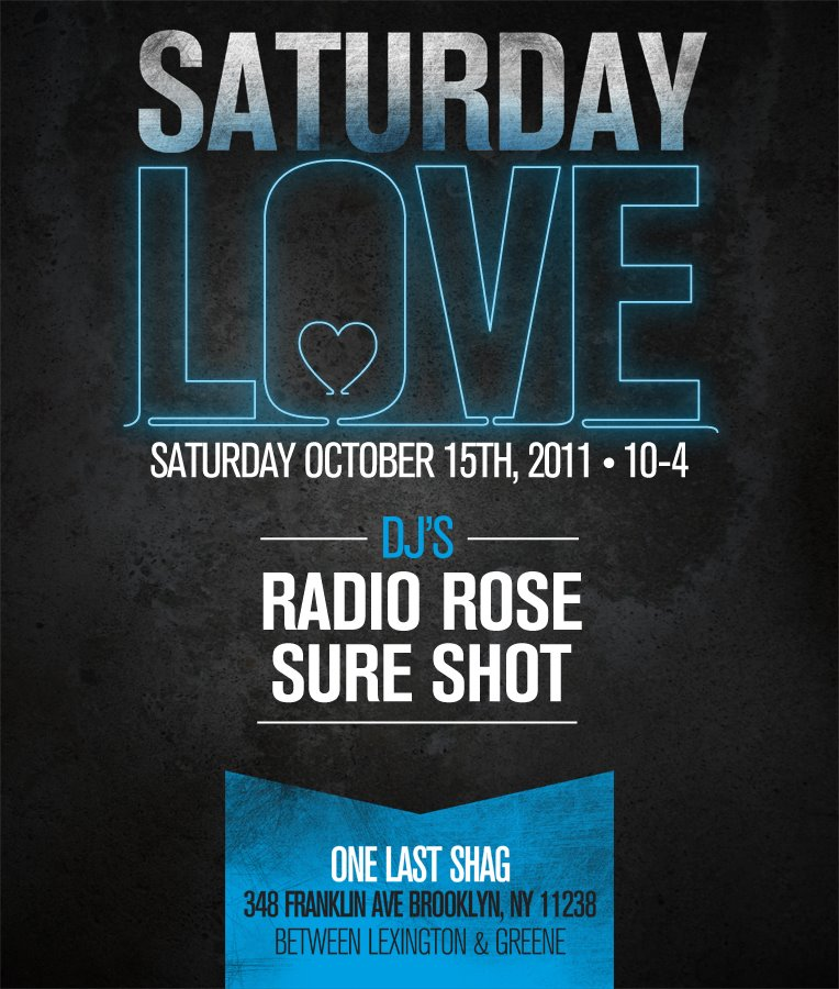 Party: Saturday Love