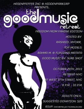 GoodMusic Party: Good Music Retreat