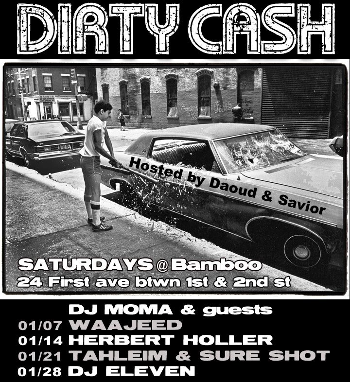 Party: Dirty Cash 1/21/12