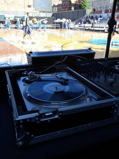 DJ Sure Shot Nike Basketball New York